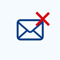 メールができない